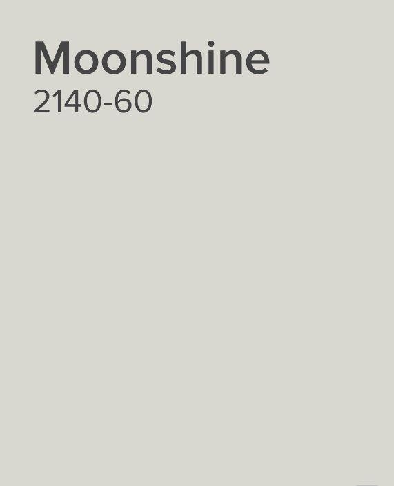 Benjamin Moore Moonshine