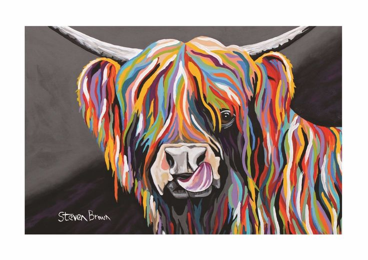 Mini McCoo Collection - Heather McCoo A3 Print or Framed - Steven Brown Art -