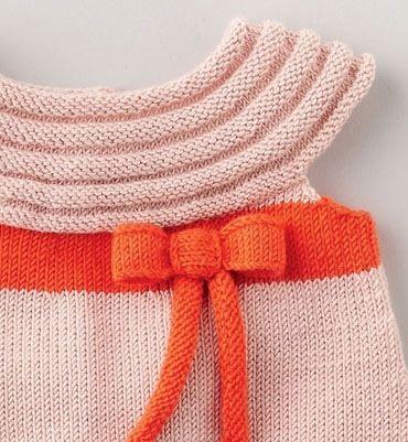 Baby dress - knit pattern