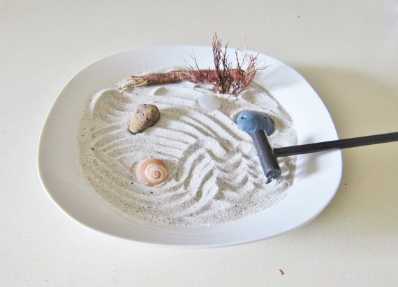Zen Garden Decor Mini Zen Garden Table Top Decor Beach