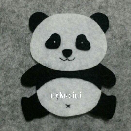 uykucini - felt panda keçe pandacık :)