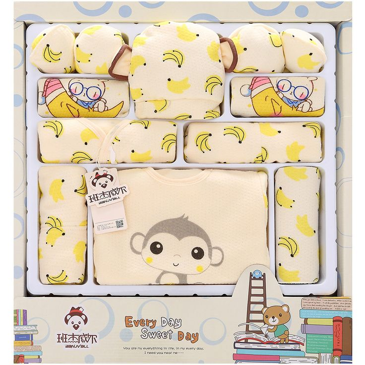 >> Click to Buy << 2016 Cartoon Monkey Cotton Baby Clothes Newborn Gift Sets Newborn Baby Clothing Sets Boys Girls Baby Products #Affiliate