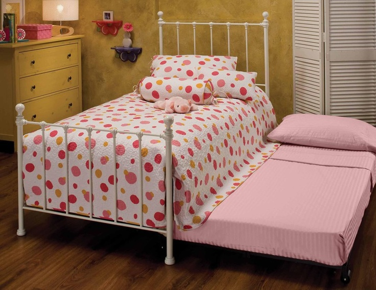 This Molly Twin Trundle Bed Frame By Hillsdale Furniture Is Perfect!