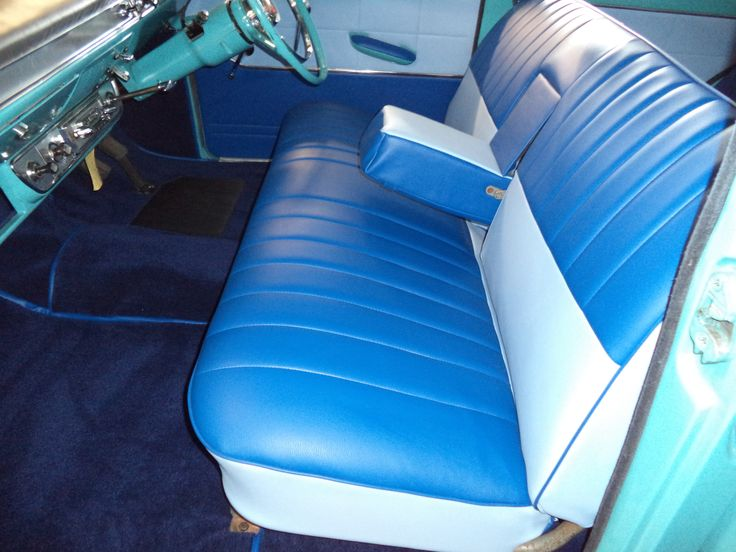 Ford Consul 375 low line new interior bench seats by www.ruskindesign.co.uk | Ford consul 375 ...