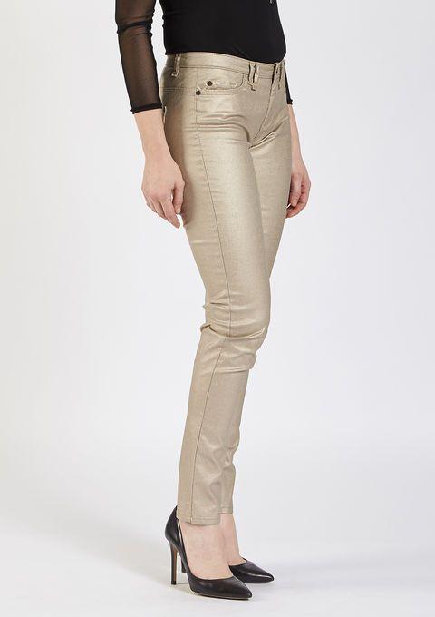 gouden rechte broek
