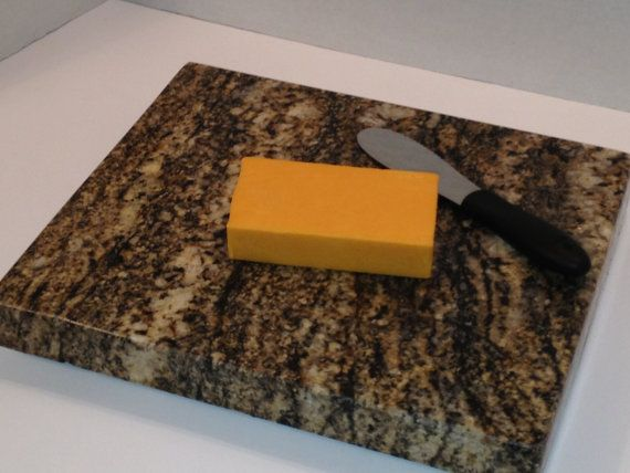 Large Finished Edge Granite Cutting Board By Granitefalls
