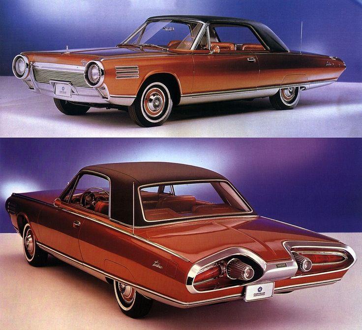 Chrysler Typhoon concept car 1963 - Atomic Samba.