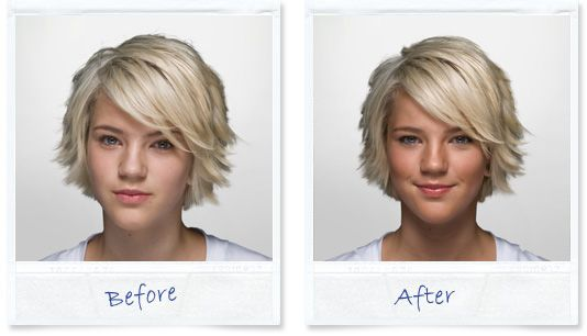 Thin lizzy light before and after photo #thinlizzy #bronzer, #beforeandafter