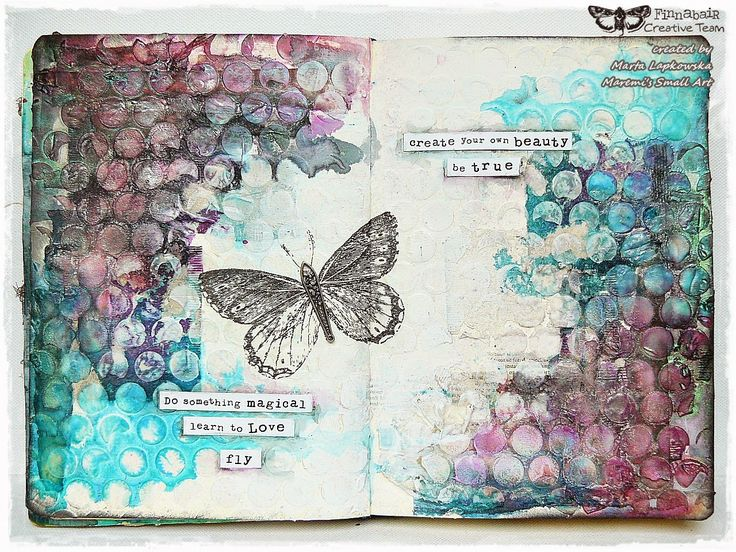 Marta Lapkowska: 'Learn to love' journal page + VIDEO tutorial