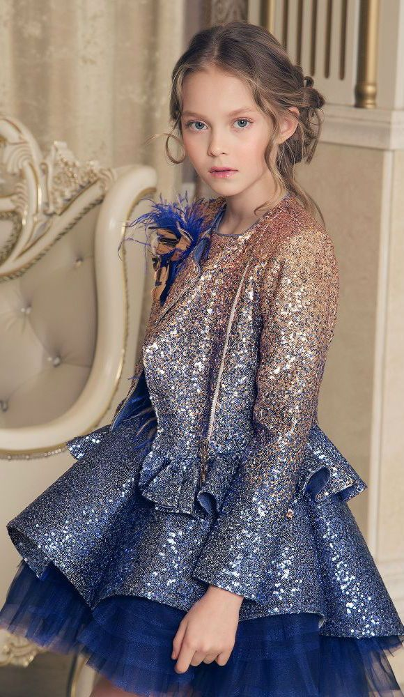65e42174696 Perfect Special Occasion Summer Party dress for a little princess at EID  celebrations. Pretty Summer Look for a stylish kid