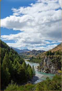 Shotover River view  http://www.thecanyonslodge.com/