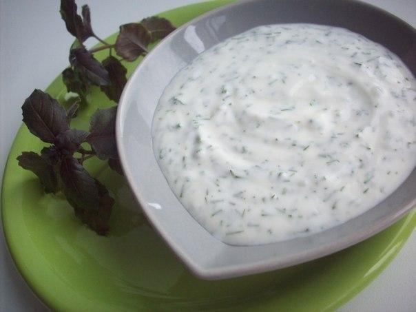 Укропно-йогуртовый соус для рыбы ☼ СвежачОк ☕️