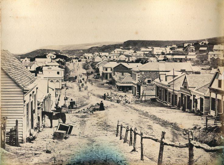 Dunedin - Princes Street - 1860