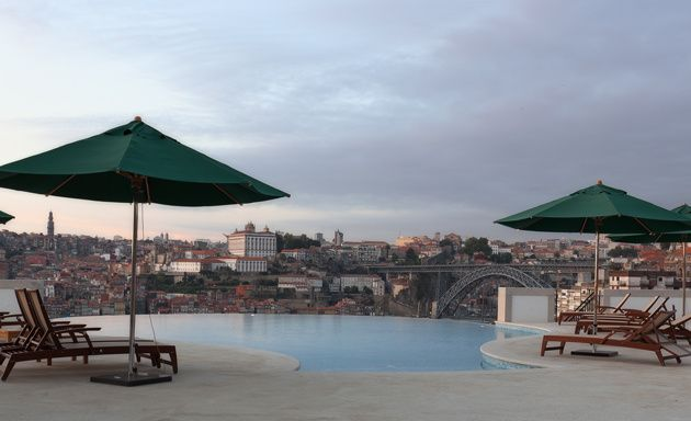 Porto, View from The Yeatman Hotel