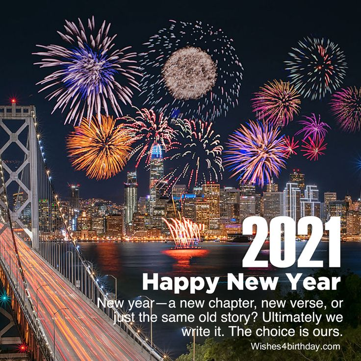Collection of Happy new year 2021 images with countdown in