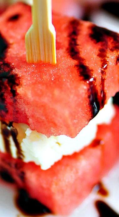 Watermelon Feta Bites