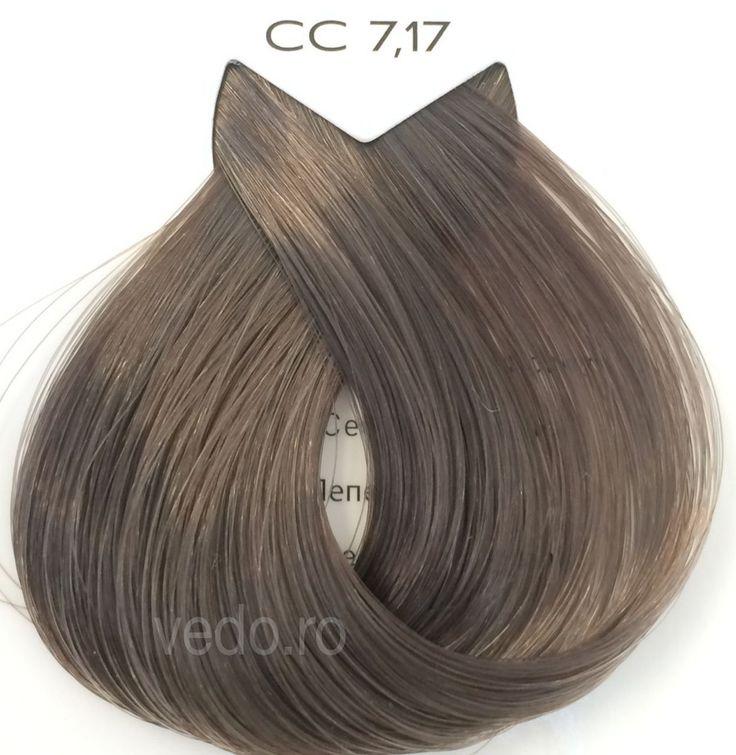 L'Oreal Majirel Cool Cover Cool Bronze 7.17 - blond mediu cenusiu maro - 50 ml