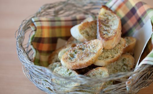 Epicure's Garlic Bread- Pairs perfectly with a bowl of saucy pasta.