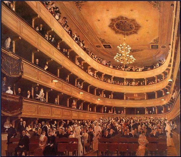 《老城堡剧院》1888