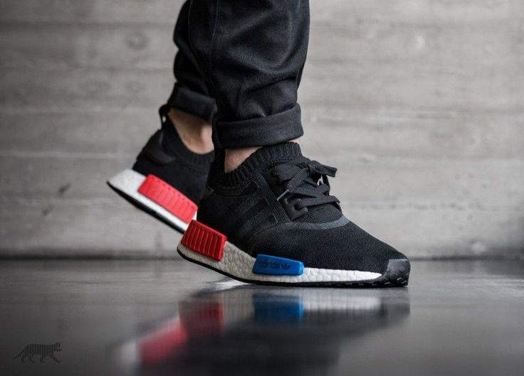 best sneakers c8c50 26bd2 adidas nmd r1 core black lush red