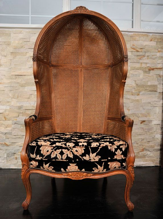 Antique Porter Chairs By Weiman, Hooded  Porter Chair -3929