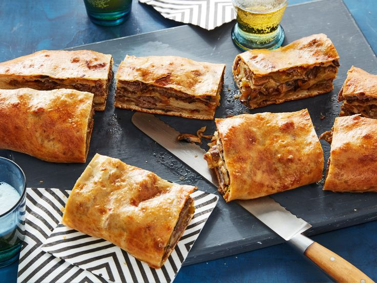 Philly Cheesesteak Garbage Bread recipe from Food Network Kitchen via Food Network