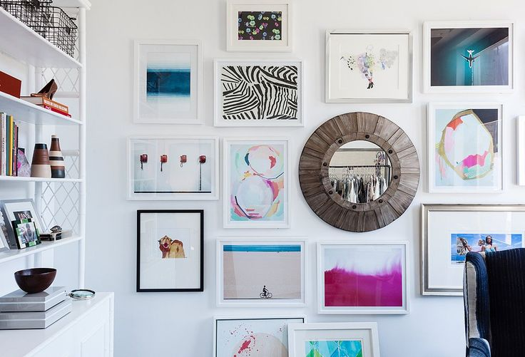 Tour the TV star and fashion designer's newly revamped work space and take away...