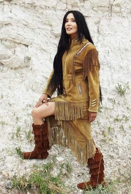 Junal Gerlach -Top Native Model/Actress -Modeling Tribal Impressions Hanna Top, Matching Fringed Skirt and Five Layer Minnetonka Zipper Boots! Review The Collections off of: http://www.indianvillagemall.com    You can also find out more about Junal's professional modeling and acting off of:  http://www.modelmayhem.com/1050392    You can also find out more about Junal's professional modeling and acting off of:  http://www.modelmayhem.com/1050392: