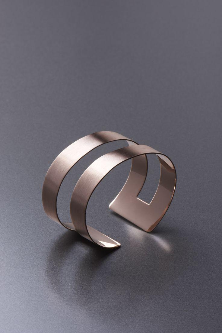 band bracelet - modern and elegant copper bracelet