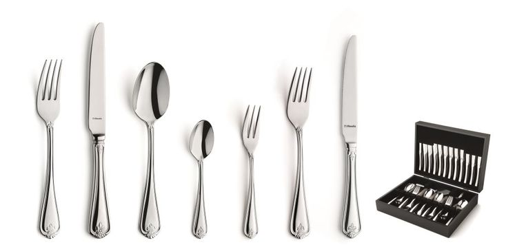 Cookinglife - Amefa Bestekset Duke 84-Delig - Houtenkist
