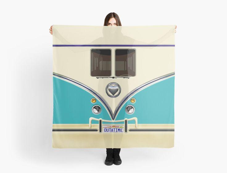 kawaii Blue teal love bug mini bus Scarves @pointsalestore #Scarves #funny #cute #fun #lol #veedub #golf #kombi #minivan #minibus #beetle #bus #camper #retro #splitwindow #van #vintage #bumper #car #lovecar #offroad #campercar #microbus #pickup #transporter