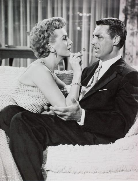 Deborah Kerr and Cary Grant - Dream Wife (1953).  I loved them both in An Affair to Remember.  I still cry when I think of that movie.
