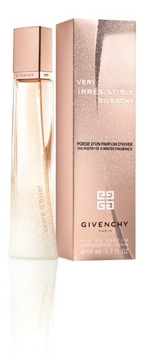 Very Irresistible 'Cedre d'hiver' by Givenchy. My ultimate winter scent!