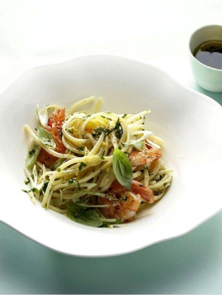 25x doordeweekse pasta   Linguine met garnalen   ELLE Eten