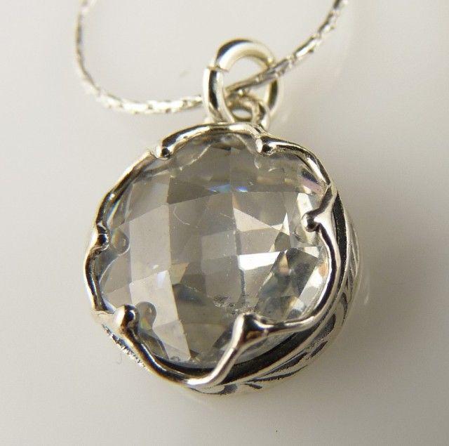 Poze Colier argint zircon N2383