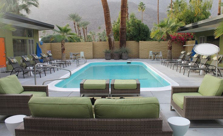 Top 10 modernist hotels in Palm Springs, California