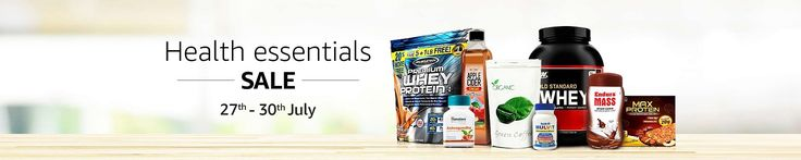 @amazon india  Health Essentials Sale Upto 50% OFF all products  shop now--http://bit.ly/SportsNutritionsale