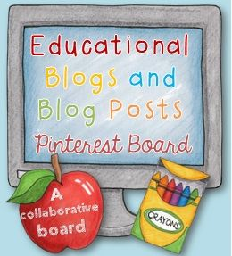 If you're on Pinterest (who isn't?) and you're a teacher, mother, father, tutor, education student, home-schooling parent, care giver, or just  need some 'ed-spiration' then you will love this collaborative Pinterest board.