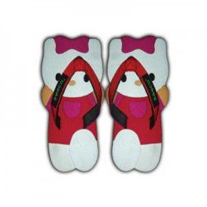 Sandal Sancu Kitty Merah