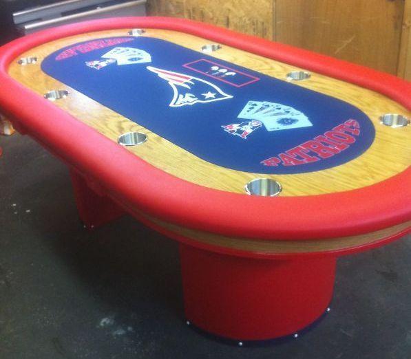 Nfl poker table