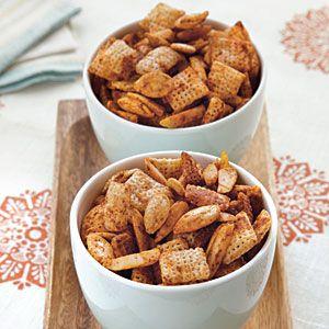 Spicy Almond-Pumpkinseed Snack Mix | MyRecipes.com
