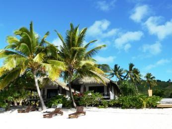 Tamanu Beach, Aitutaki, Cook Islands
