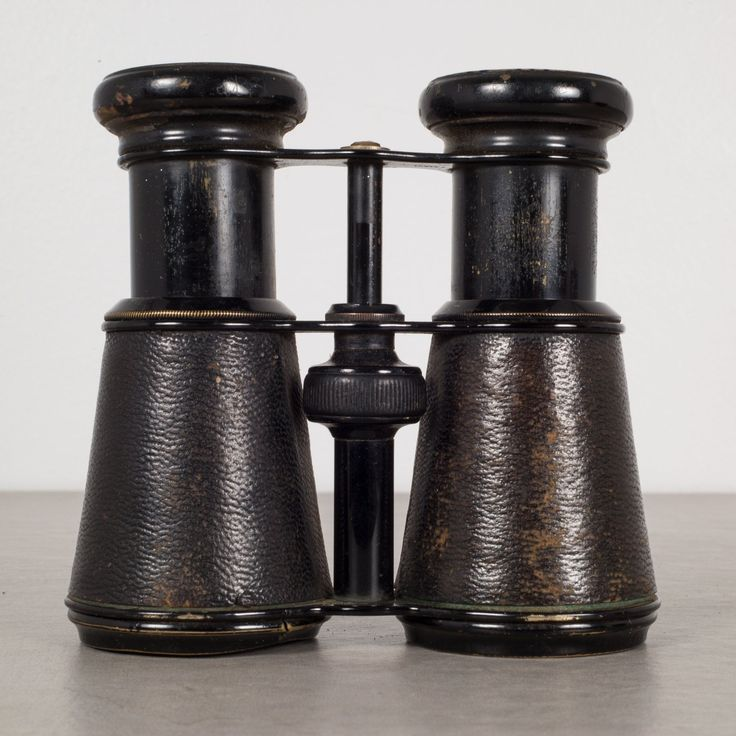 French Military Galilean Binoculars By Le Fils C.1880