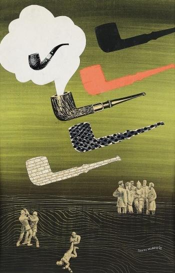 pipe dream, by Conroy Maddox
