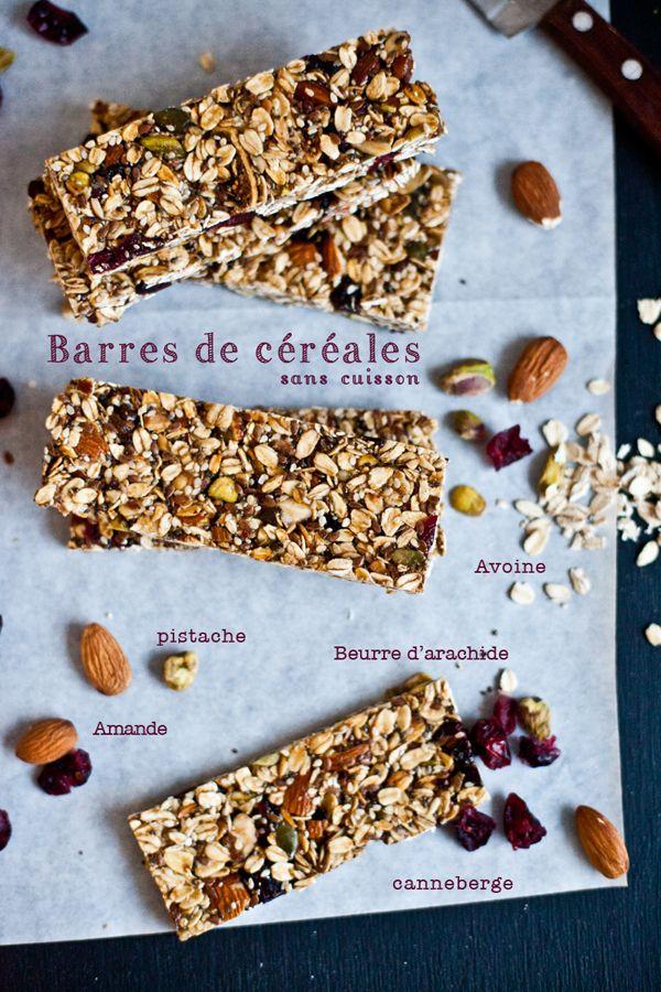 Barres de céréales Maison http://emiliemurmure.com/?p=626