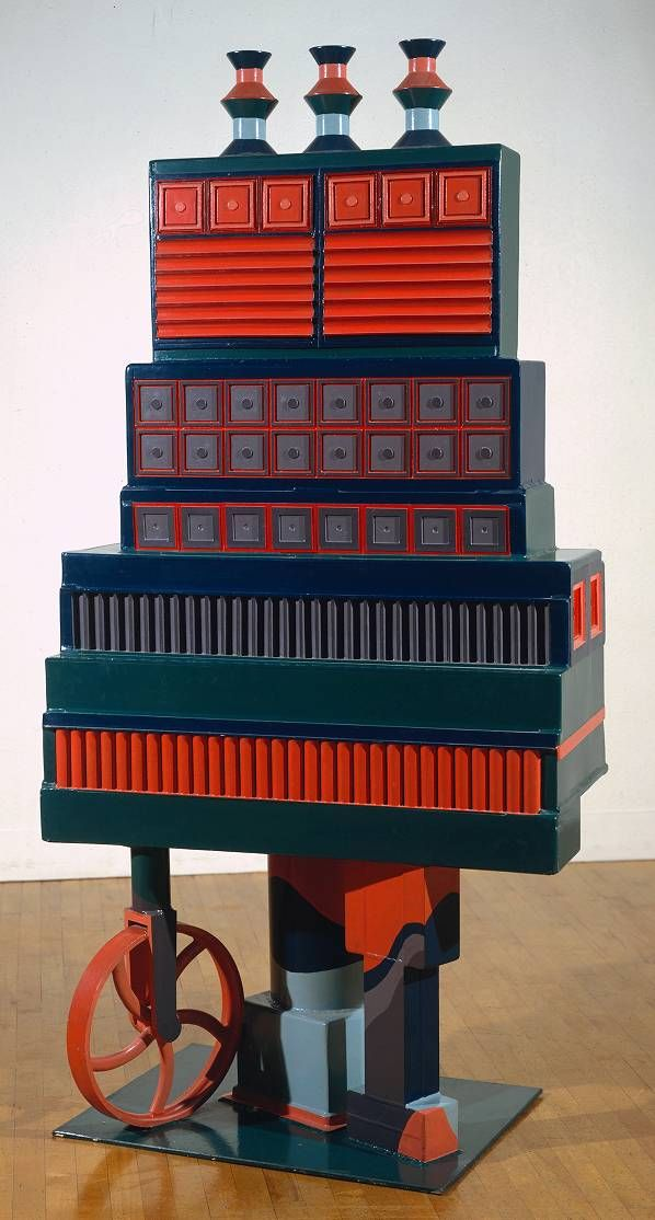 Sir Eduardo Paolozzi, 'The City of the Circle and the Square' 1963 and 1966