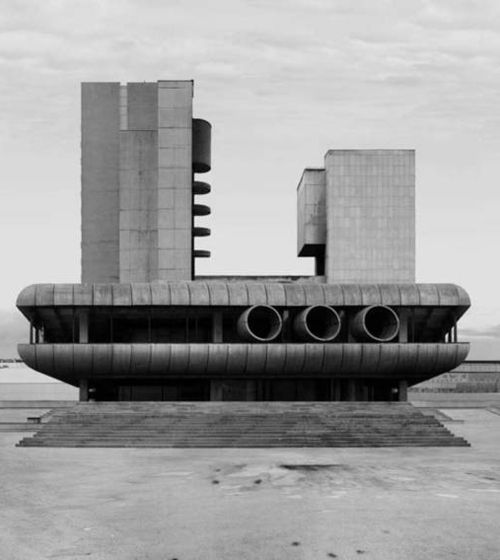 Visions of an Industrial Age: #Brutalist #architecture