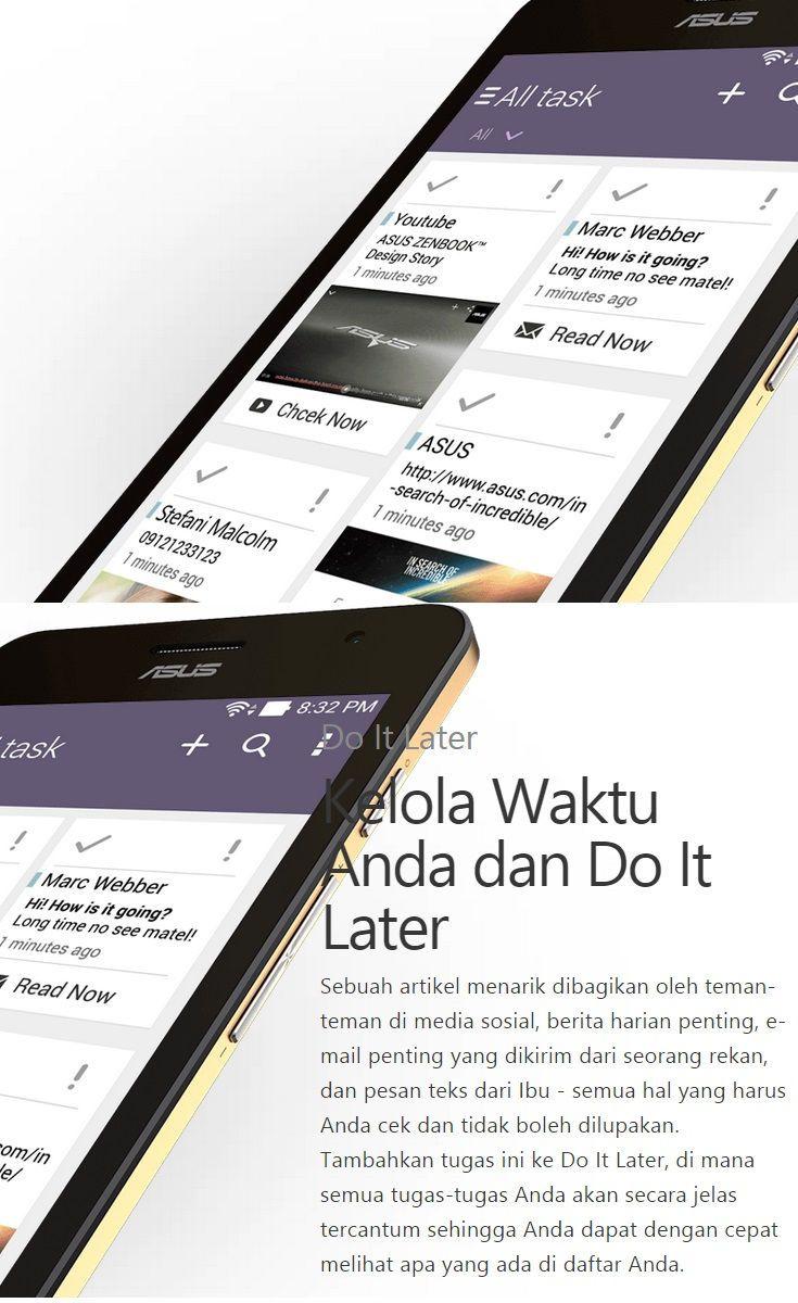 ASUS ZenFone Smartphone Android Terbaik, ZenUI: Kelola Waktu Anda dan Do It Later http://lepaslokan.blogspot.com/2014/08/asus-zenfone-smartphone-android-terbaik.html