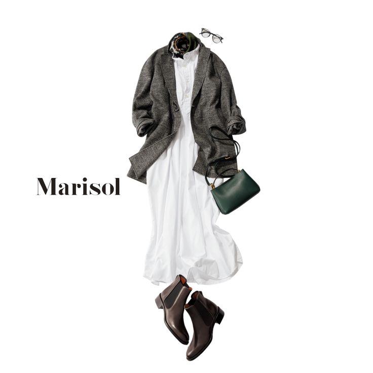 英国在住の友人とランチ。ブリティッシュ気分はJKで取り入れて【2017/10/4コーデ】Marisol ONLINE 女っぷり上々!40代をもっとキレイに。