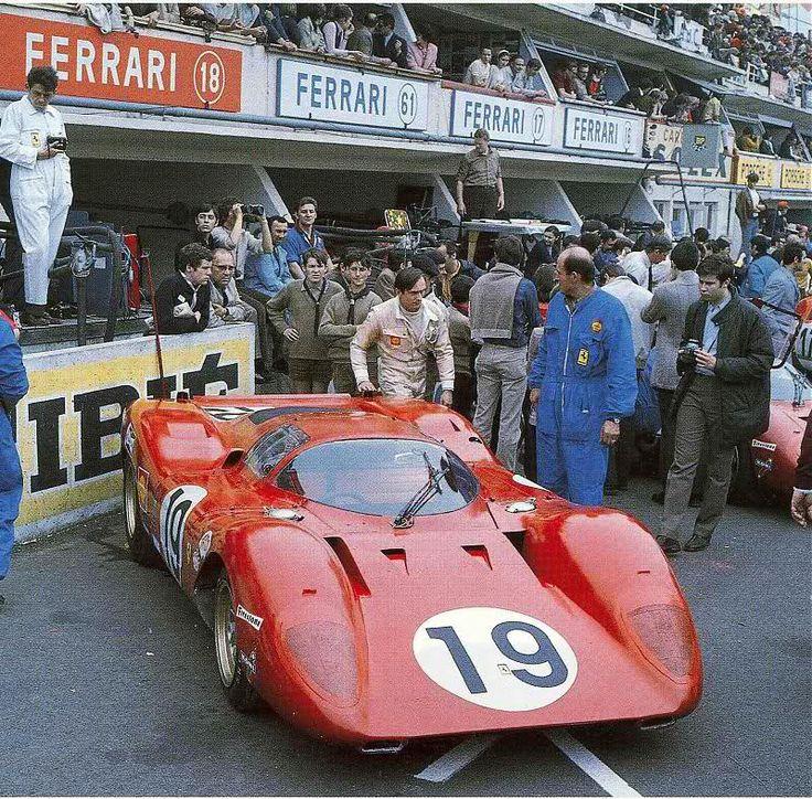 #19 Ferrari 312 P (0868) Chris Amon/Peter Schetty (Scuderia Ferrari